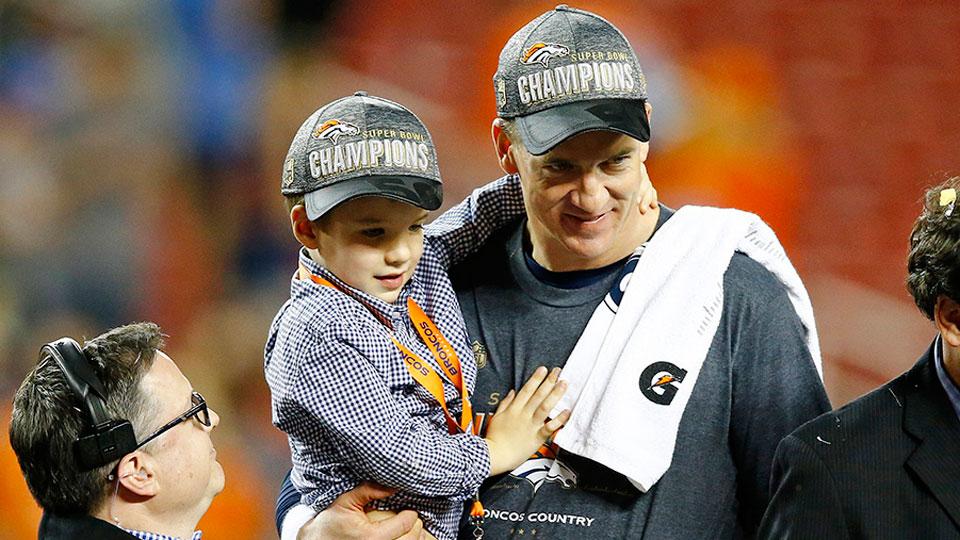 peyton manning kids. Peyton Manning Kids R
