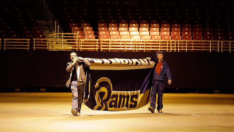 Los Angeles Rams relocation a tale of more than two cities