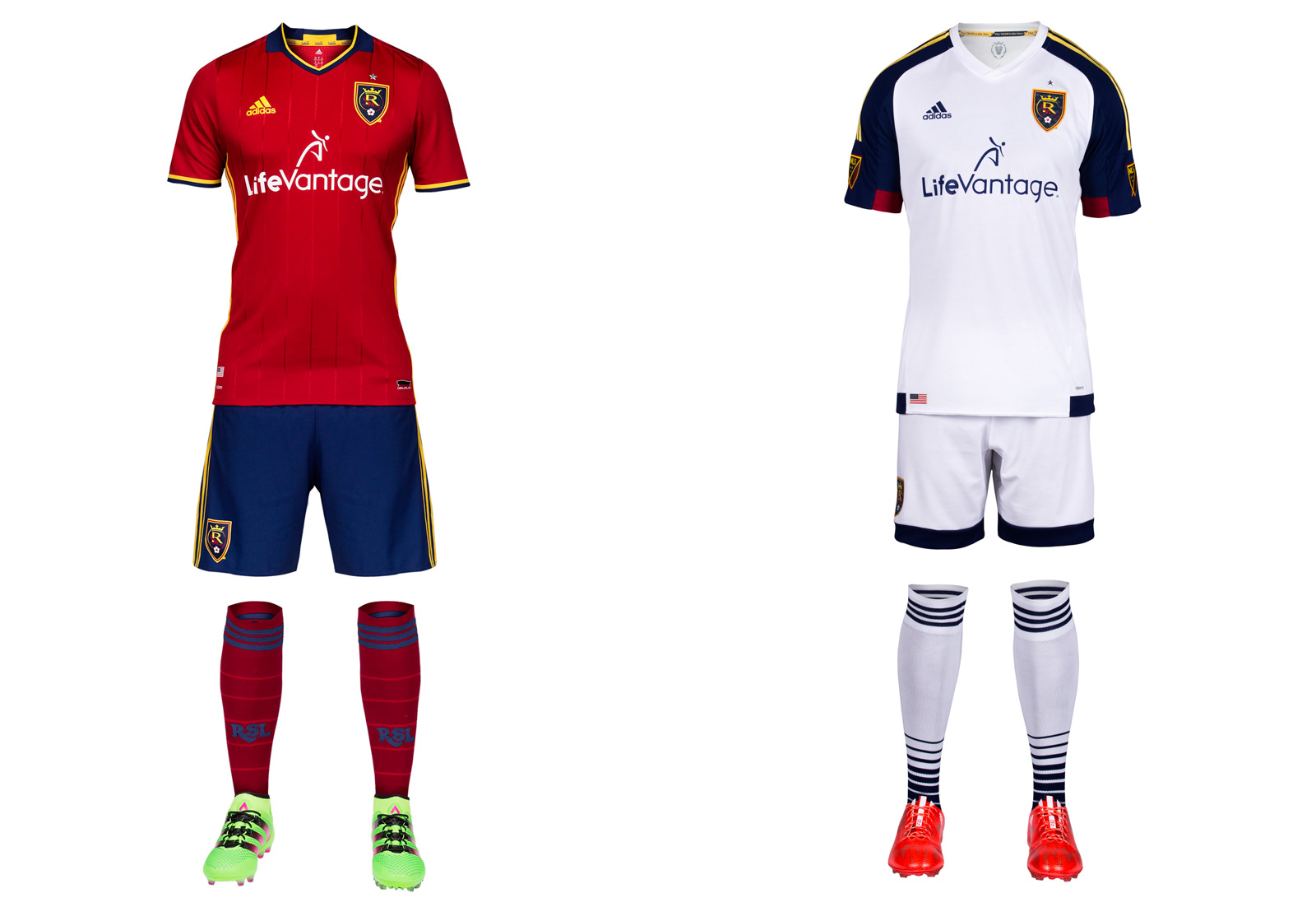 Real Salt Lake's 2016 MLS uniforms