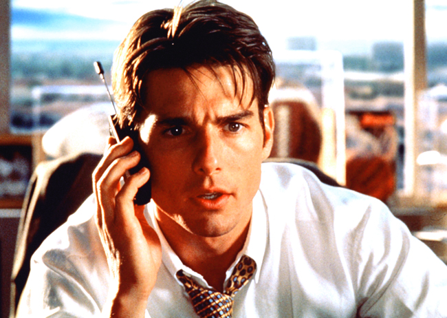 Cruise's Jerry Maguire character was based on Steinberg.