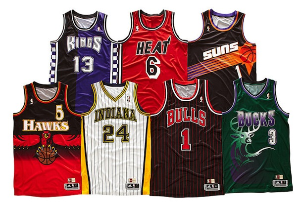 official photos 89633 ab511 Pacers, Heat, Bulls among teams set to wear throwback ...