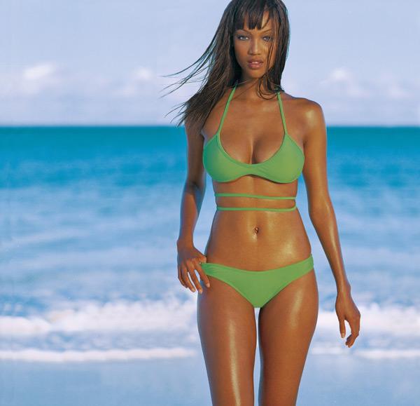Tyra Banks Famous For: Tyra Banks Returns To Her Roots