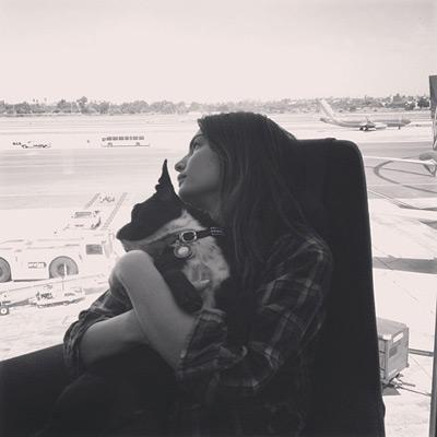 @luvalyssamiller: Waiting for our plane