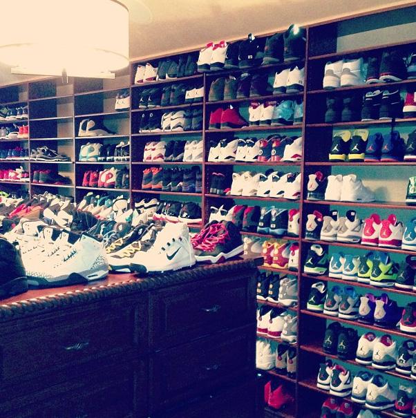 Chris Paulu0027s Shoe Closet (jada_ap On Instagram)