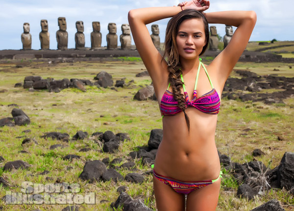 Chrissy Teigen :: David Burton/SI