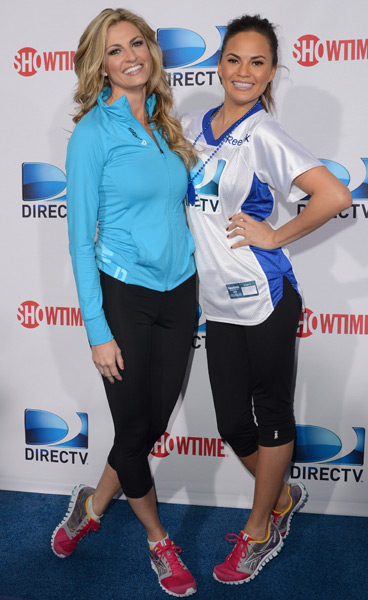 Erin Andrews and Chrissy Teigen :: Jason Merritt/Getty Images