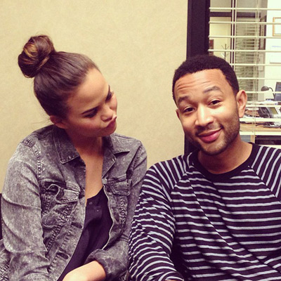 @chrissy_teigen: Jim and pamming