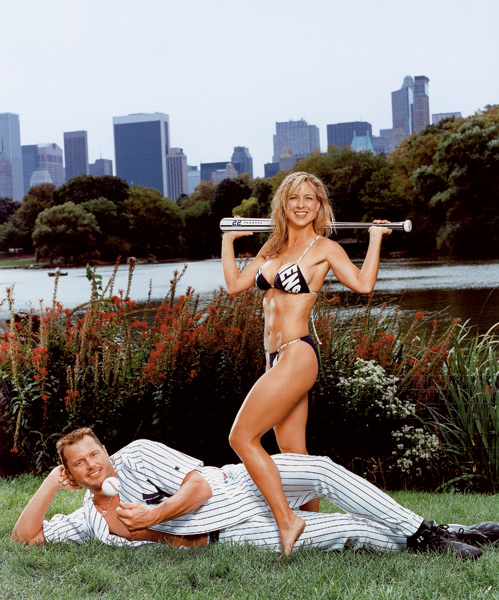 Roger and Debbie Clemens :: Richard Corman/SI (2003)