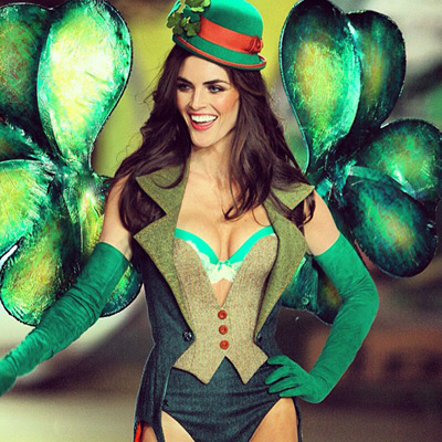 @hilaryhrhoda: Totally should have kept this outfit to wear to some Irish pubs today. #HAPPYSTPATTYSDAY