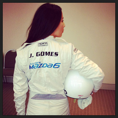 @iamjessicagomes: Grand Prix 2013 Mazda 6 Celebrity Challenge. Melbourne it's on!!