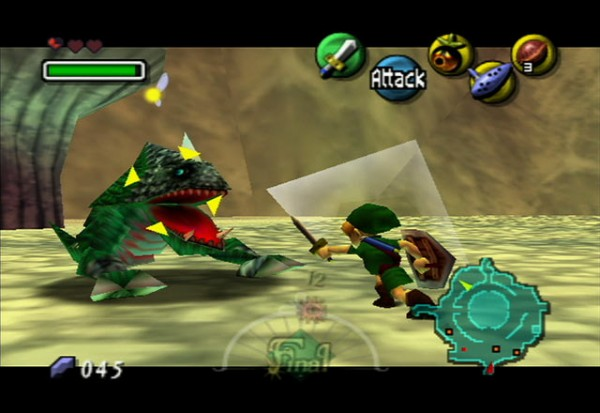 2. The Legend of Zelda: Ocarina of Time (1998): Regarded by many younger players as the pinnacle of the series, the time-tripping yarn for Nintendo 64 has spawned four major-releases, most recently last year for Nintendo 3DS. It was twice declared the highest-rated game ever reviewed by Guinness World Records.