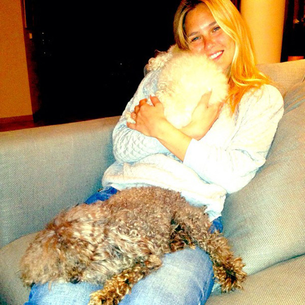 @barrefaeli: My babies and me