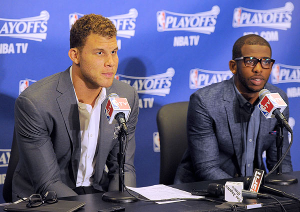 Blake Griffin, Chris Paul: Los Angeles Clippers, Game 1 vs. Grizzlies (Noah Graham/NBAE via Getty Images)