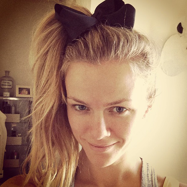 @brooklynddecker: Preview of tonight's hair for our 80s Bogey Down party benefitting @arfoundation ! I love the 80s