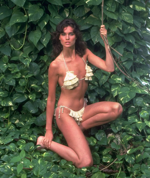 Carol Alt - Beyond Justice (1992),                             Private Parts (1997),                             To Rome with Love (2012), :: Walter Iooss Jr./SI