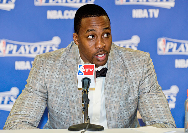Dwight Howard, Lakers: Game 2 vs. Spurs (D. Clarke Evans/NBAE via Getty Images)