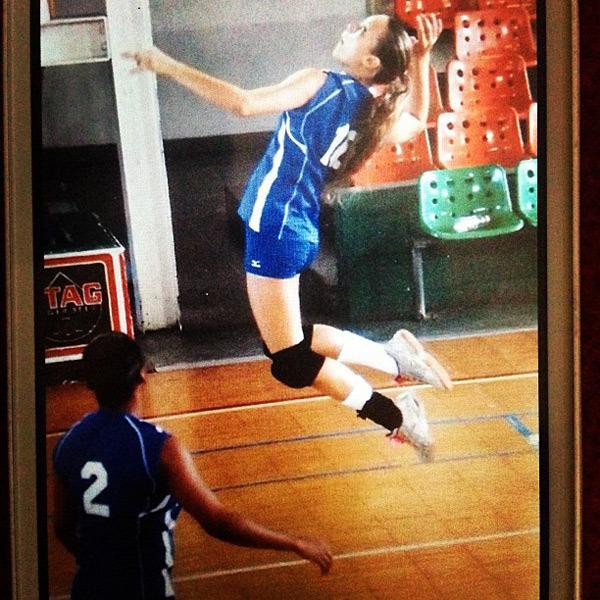 @hanni_davis: #tbt VI national team #volleyball