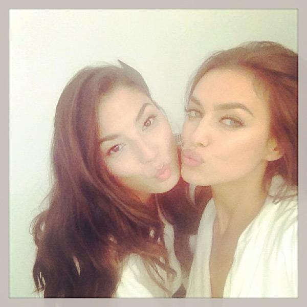 @irinashaykofficial: @iamjessicagomes with jessy on set !secret place #sexy times LOl