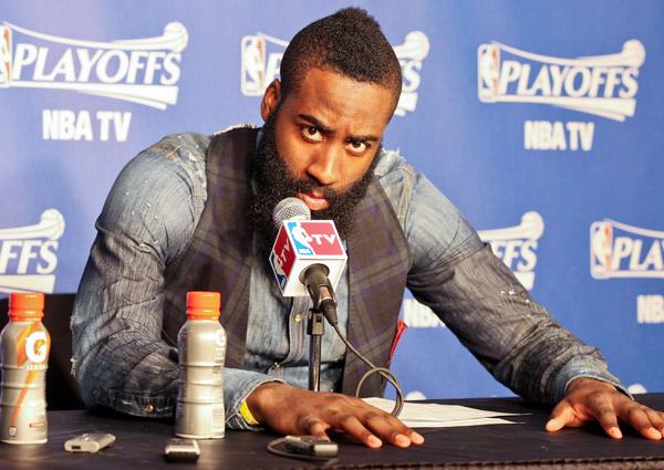 James Harden, Rockets: Game 2 vs. Thunder (Layne Murdoch Jr./NBAE via Getty Images)