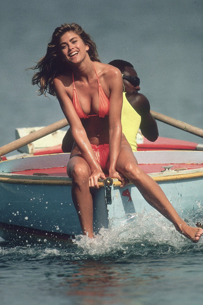 Kathy Ireland - Necessary Roughness (1991),                              Mom and Dad Save the World (1992),                              Loaded Weapon 1 (1993) :: Robert Huntzinger/SI