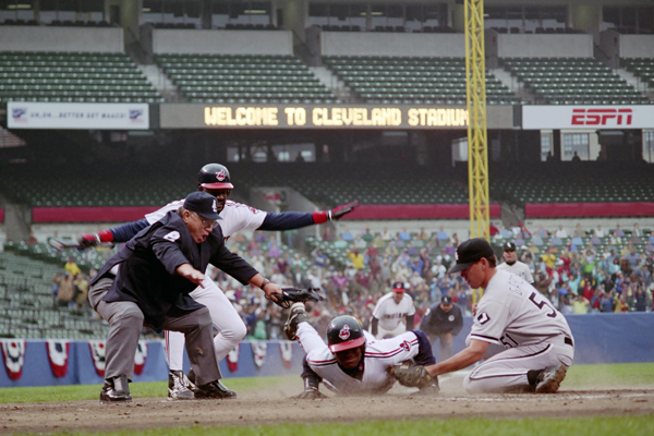 """MAJOR LEAGUE II (1.5 stars): """"There's one bright spot: On the basis of this dismal attempt, the team will probably not be back next season."""" (Diamond Images/Getty Images)"""