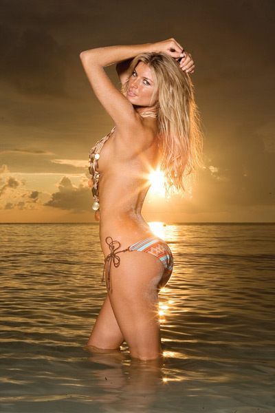 Marisa miller sports illustrated body paint