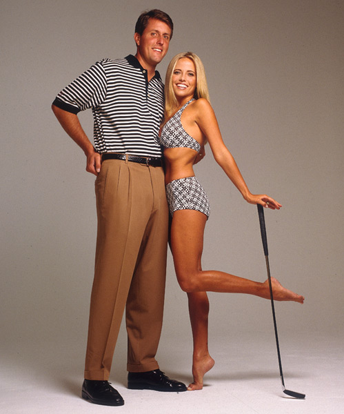 Phil and Amy Mickelson :: Walter Iooss Jr./SI