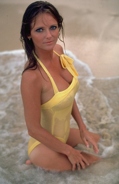 Cheryl tiegs see through bikini