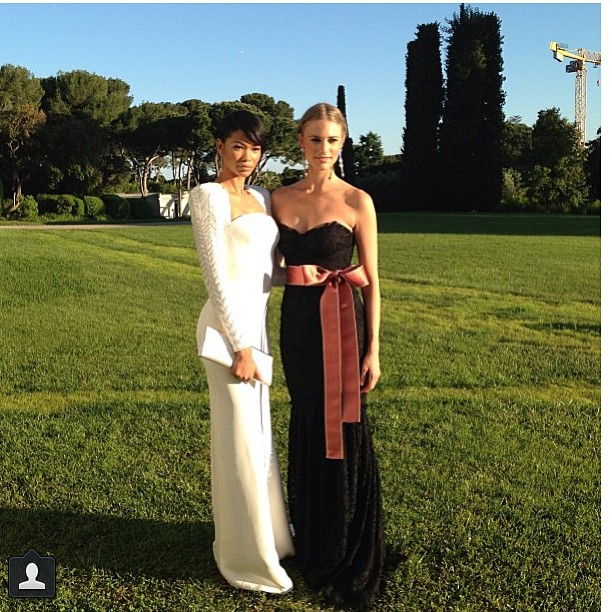 @juliephenderson: Amfar ready! #regram #cannes