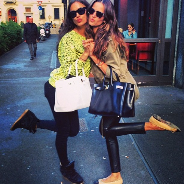 izabel_goulart: With Irina :)