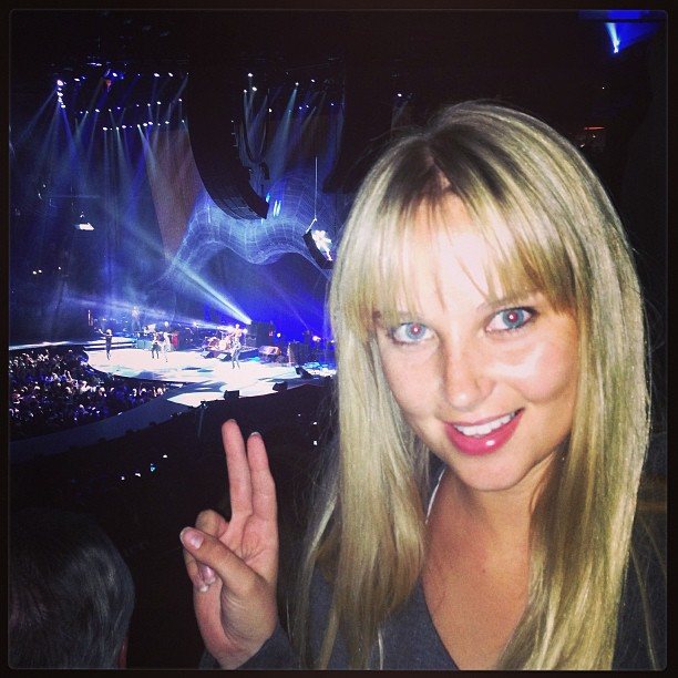 @genevievemorton: Awesome #rollingstones #la