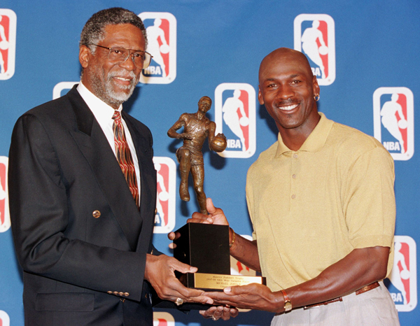 Phil Jackson Would Take Bill Russell Left Over Michael Jordan If Given The Choice