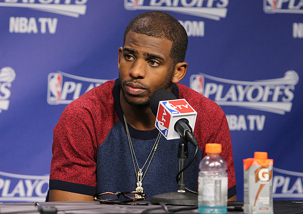 Chris Paul, Clippers: Game 3 vs. Grizzlies (Joe Murphy/NBAE via Getty Images)