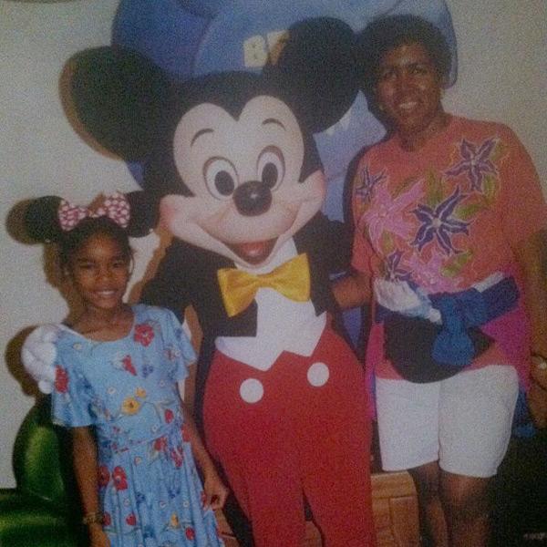 Damaris Lewis and mother :: @damarislewis