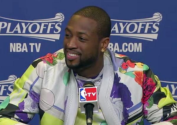 Dwyane Wade, Heat: Game 1 vs. Bulls (via @BloodlineFranco)