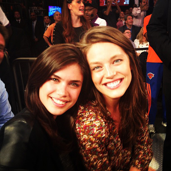 @emilydidonato1: Knicks! With @sarasampaio