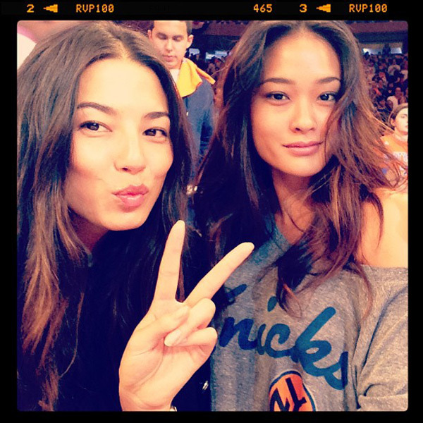 @iamjessicagomes: @nyknicks #nyc with @jarahm