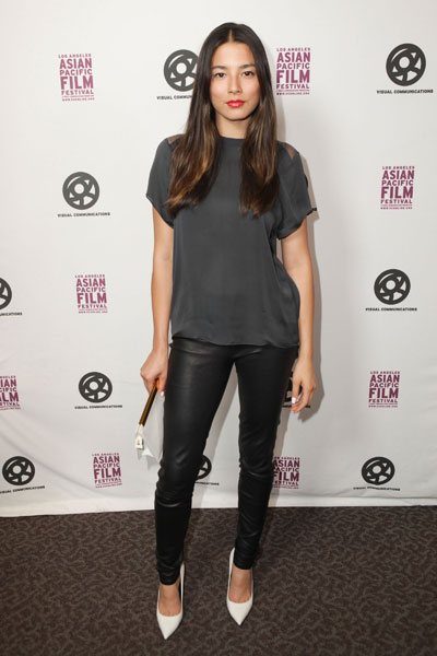 "Jessica Gomes at ""Girl Power Day"" in Los Angeles :: Paul Archuleta/FilmMagic"