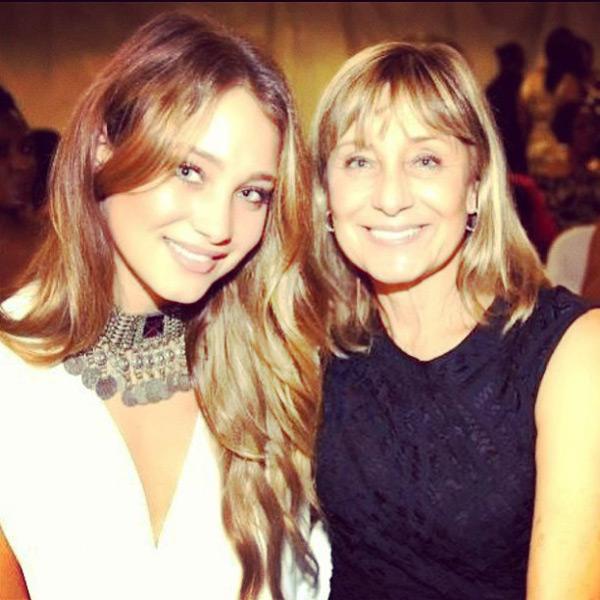 Hannah Davis and mother :: @hanni_davis