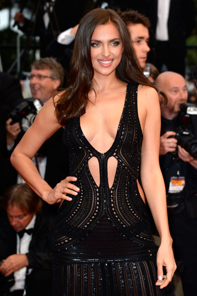 "Irina Shayk at the ""All Is Lost"" premiere at Cannes :: Pascal Le Segretain/Getty Images"