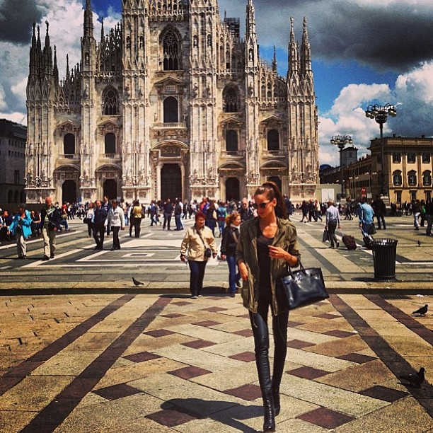@izabel_goulart: Enjoying Milano today! #wonderful