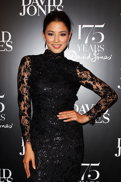Jessica Gomes at David Jones '175th anniversary gala :: Lisa Maree Williams/Getty Images
