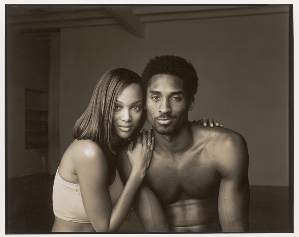Tyra Banks and Kobe Bryant :: Walter Iooss Jr./SI