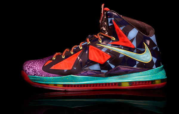 "Nike's ""MVP"" version of the LeBron X. (Nike)"