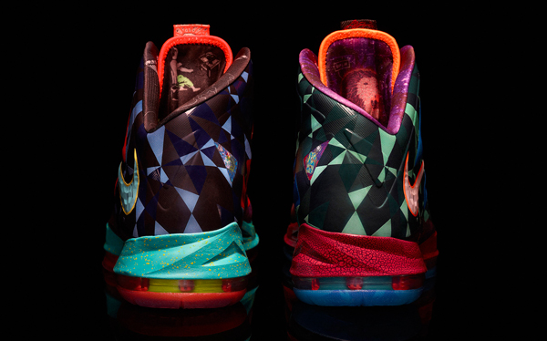 "The back of the ""MVP"" version of the LeBron X. (Nike)"