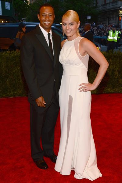 Tiger Woods, Lindsay Vonn :: Getty Images