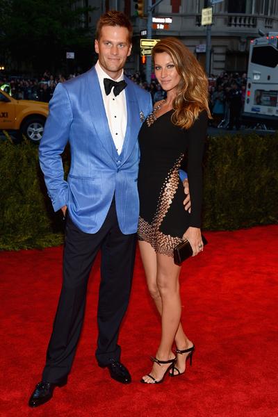 Tom Brady, Giselle Bundchen :: Getty Images