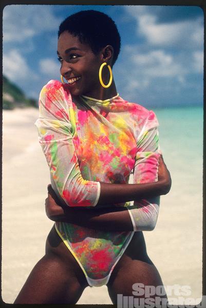 Roshumba Williams :: Robert Huntzinger/SI