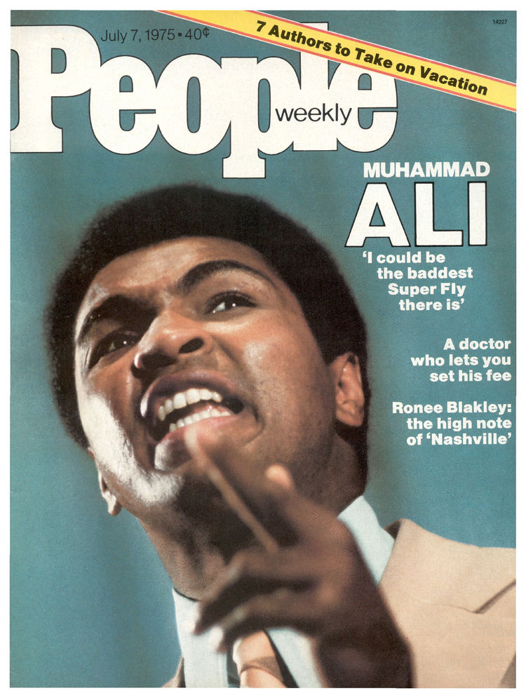 Muhammad Ali (July 7, 1975): The 33-year-old heavyweight champ appeared on the cover ahead of his rubber match with Joe Frazier.