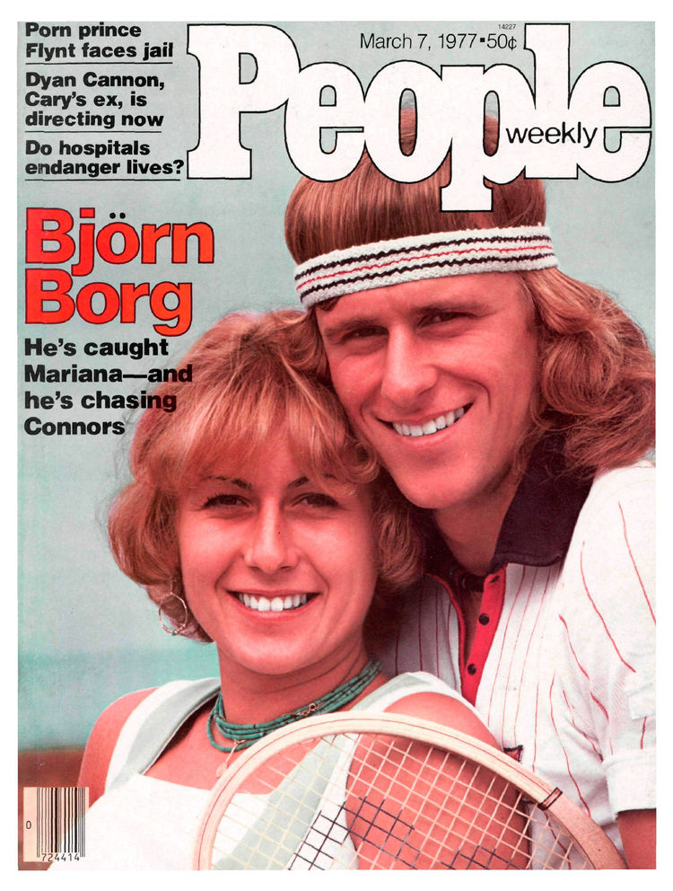 Björn Borg (Mar. 3, 1977): The stylish Swede had just turned 21 when People took notice.